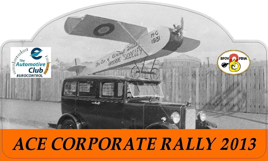 ACE Rally 2013 - plate