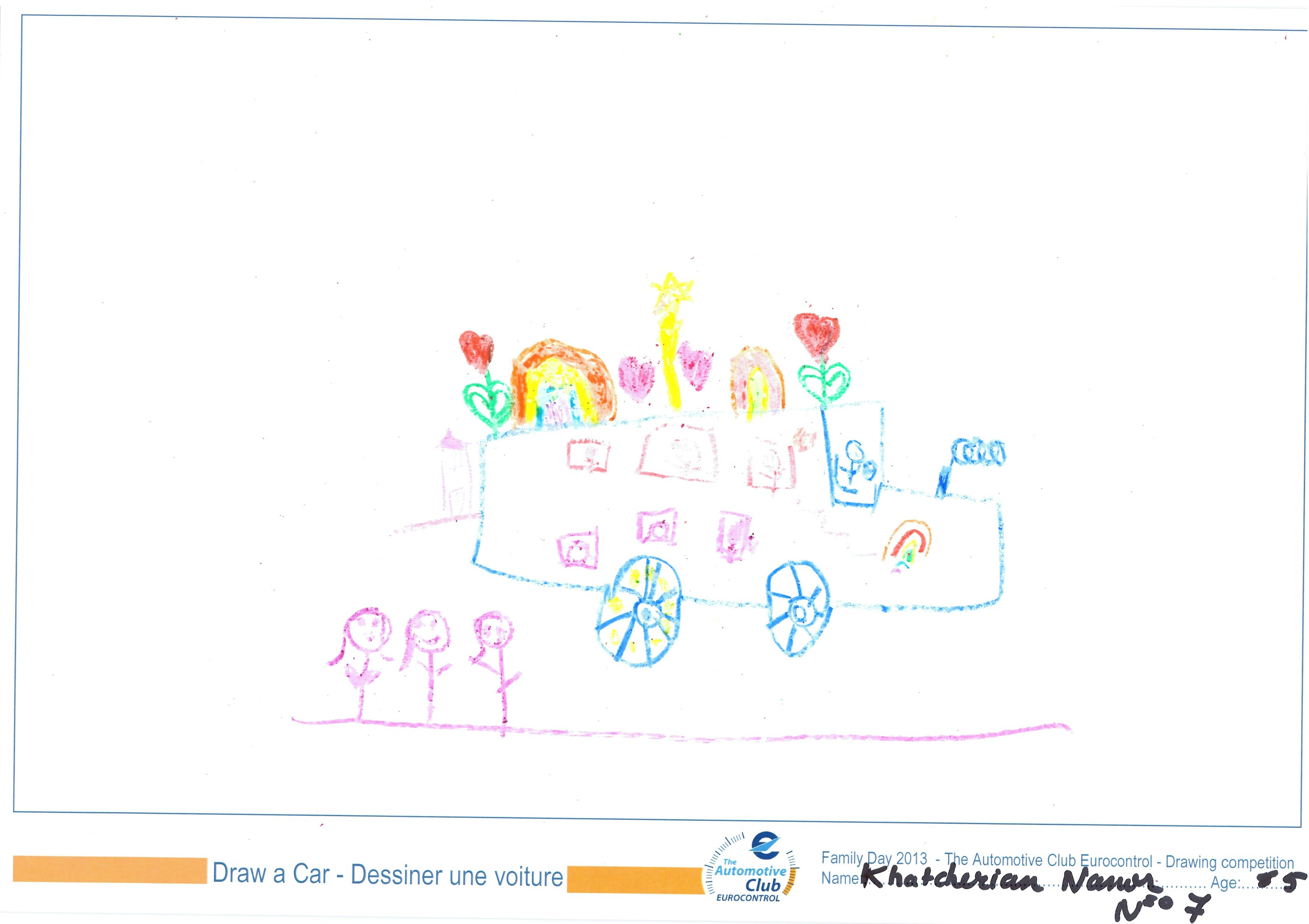 EUROCONTROL Family day 2013 - ACE drawing contest - Drawing 07