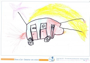 EUROCONTROL Family day 2013 - ACE drawing contest - Drawing 18