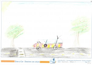 EUROCONTROL Family day 2013 - ACE drawing contest - Drawing 15