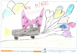 EUROCONTROL Family day 2013 - ACE drawing contest - Drawing 21