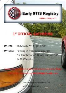 Gathering Early911Sregistry 2014 March